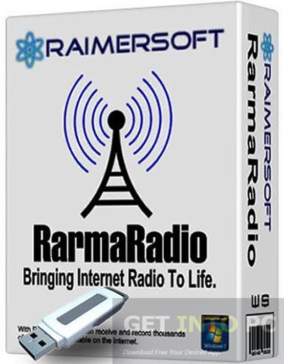 RarmaRadio Pro Multilingual Portable Setup Free Download