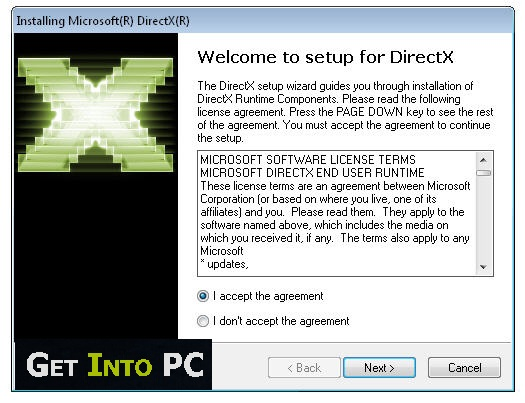 Getintopc DirectX 11 Free Download - Get into pc