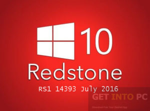GET INTO PC Windows 10 Pro 64 Redstone RS1 14393 July 2016 Download