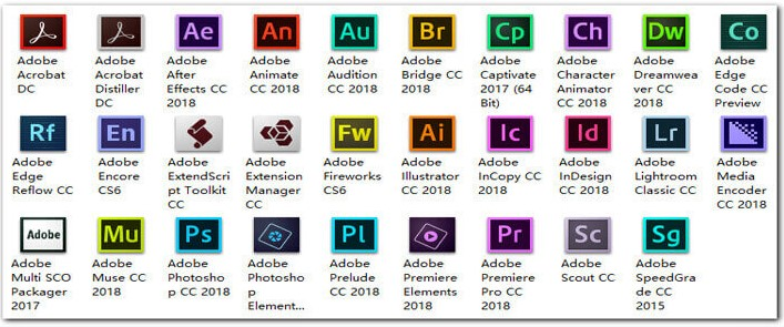 Getintopc Adobe Master Collection CC July 2018 x86 x64 Free