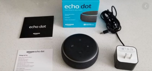 Amazon Cyber Monday Prime Echo Dot 2019