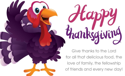 Happy Thanksgiving Cartoon Turkey eCard