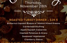 Mccormick And Schmick's Thanksgiving Menu 2019