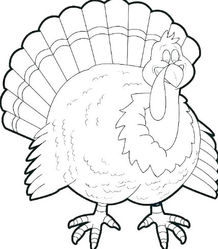 Thanksgiving turkey images printable 2019