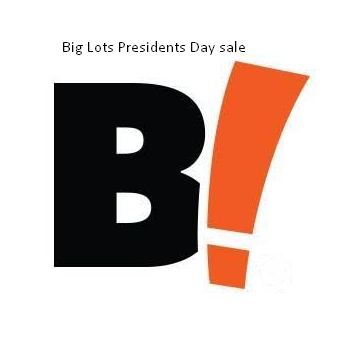 Big Lots Presidents Day sale 2020