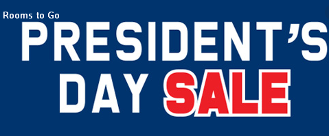 Rooms to Go Presidents Day Sale 2020