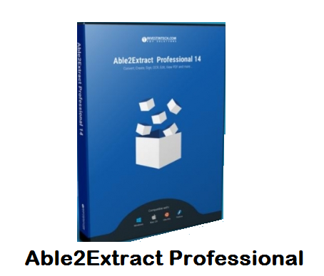 Able2Extract Professional 14 Free Download Full Version
